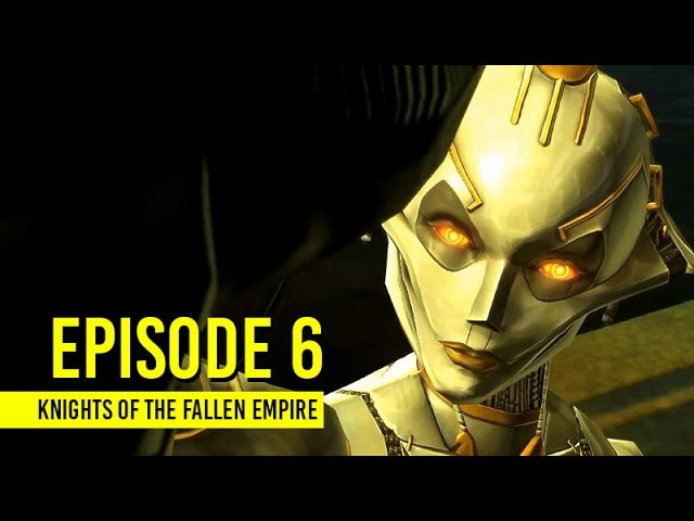 STAR WARS: Knights of the Fallen Empire | Story Cutscenes | Episode 6: Lady of Sorrows