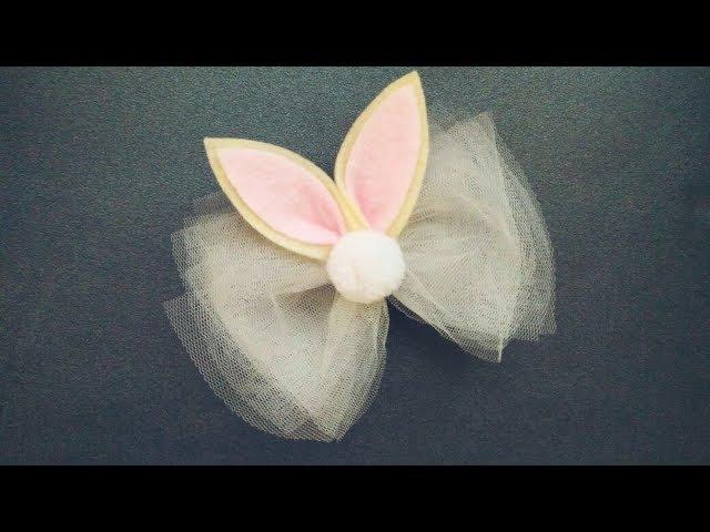 How To Make : Bunny Ears For Headband Hairclip | DIY by Elysia Handmade