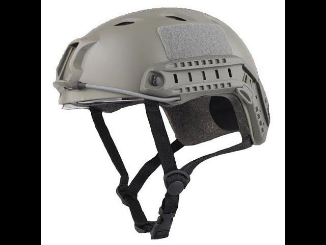 Шлем тактический страйкбольный (для страйкбола) Emerson Fast BJ Hemlet реплика