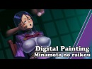 Digital Painting Minamoto no Raikou