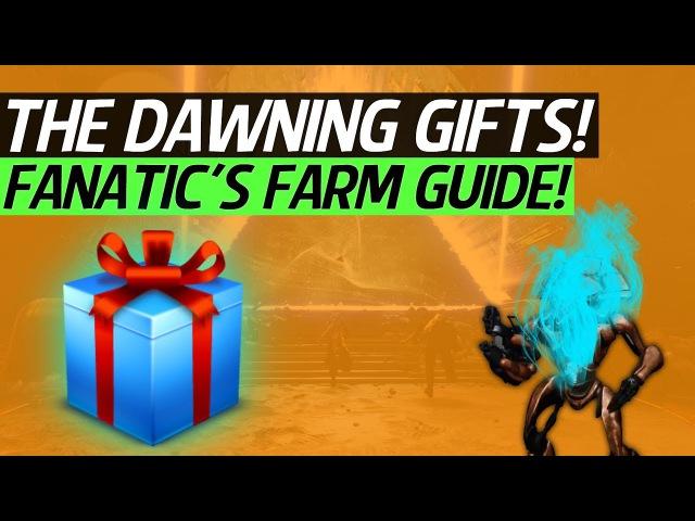 Destiny 2 - The Dawning Gift Schematic Devrim Farming Fanatics!