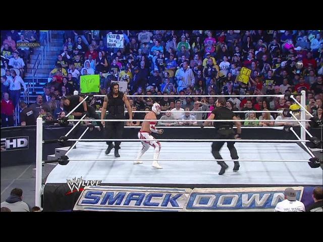 Sin Cara vs. Damien Sandow: SuperSmackDown, Dec. 18, 2012