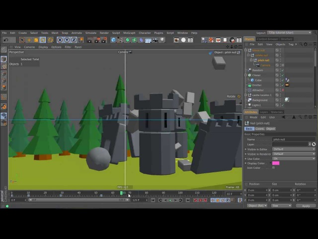 Tutorial: Create a Dynamic Catapult Animation in Cinema 4D: Part 6