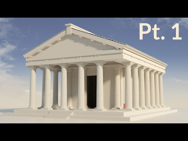 CGC Classic: Modeling a Temple Pt. 1 (Blender 2.6)