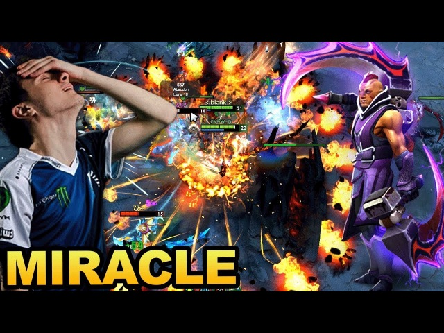 Miracle- Signature Heroes - How to play Shadow Fiend Anti-Mage Dota 2