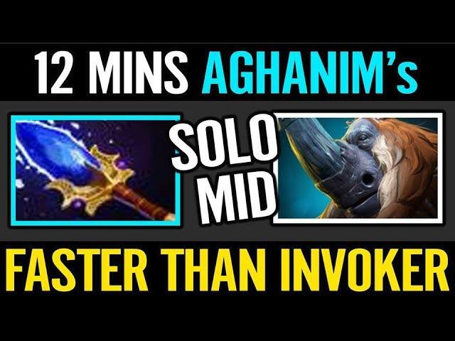 12 Min Aghanim's Cr1t MAGNUS Faster than my INVOKER Gegewepe Dota 2
