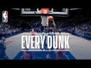 Enes Kanter Anthony Davis and Every Dunk From Sunday January 14 2018