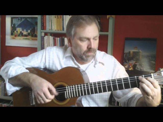 Gerhard Gschossmann - Соната до минор Скарлатти (K11 / L352) гитара