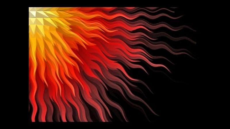 Photoshop Tutorial: How to Make a Geometric Sunburst