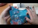 Обработка горловина из тонких тканей Московский шов