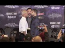 Miguel Cotto and Sadam Ali Intense Face Off