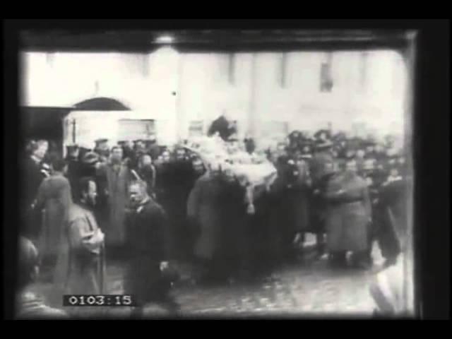 Кинонеделя №40. Похороны Веры Холодной. (1919)