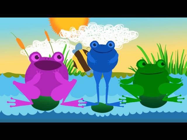 Žaba, žaba, žaba! - █▬█ █ ▀█▀ pesmica za decu