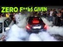 Mercedes C63 AMG goes MAD with Police around!