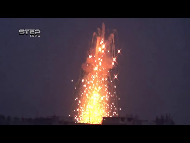 Огненный ад: ВКС РФ сжигают боевиков «Аль-Каиды» в Идлибе и Хаме