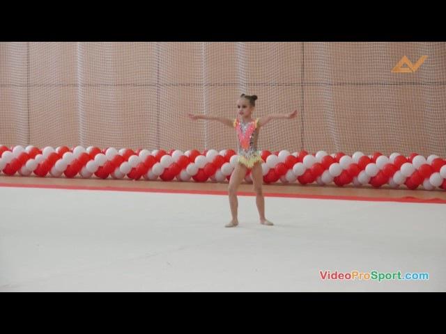 Ярмина Алина,2009, БП,всероссийские соревнования, Спартак, Санкт-Петербург,1 место