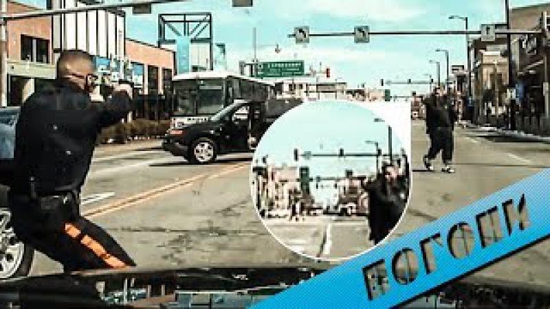Сумасшедшая перестрелка, погоня полиции Atlantic City
