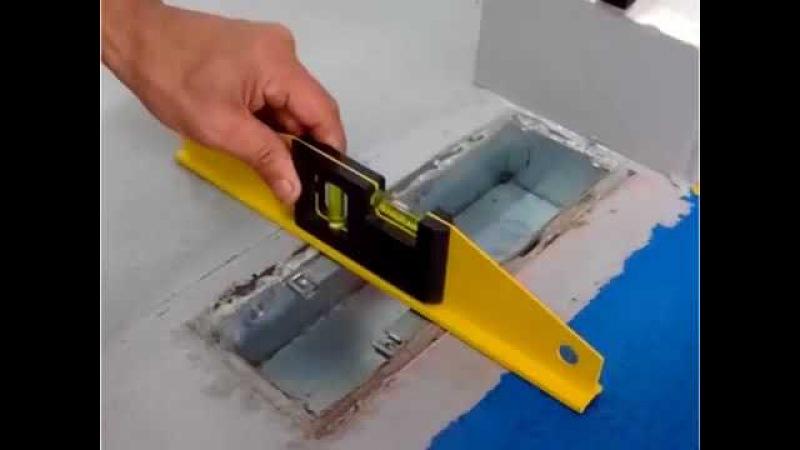 Hưỡng dẫn lắp bản lề thủy lực Hander