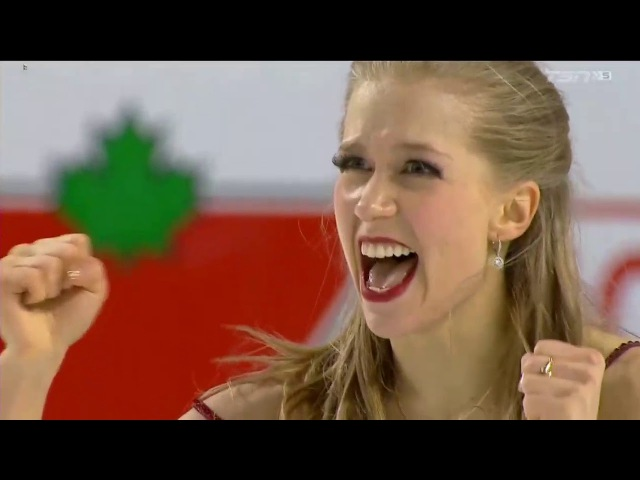 Kaitlyn WEAVER / Andrew POJE Free Dance Canadian Figure Skating Championships 2018