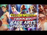 TEKKEN MOBILE  All Characters Rage Arts Showcase Compilation  Pre Launch
