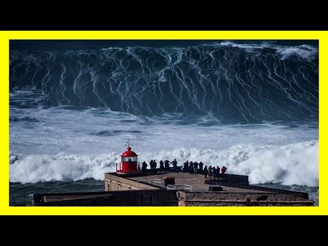 La ola más peligrosa y más grande del mundo porfin fué surfeada