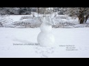Snowman simulation in RealFlow. R D