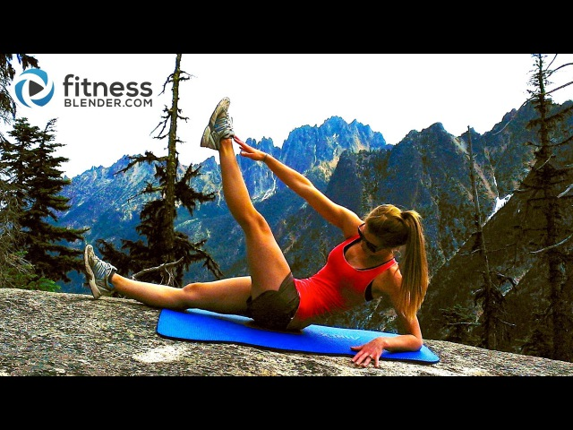 Mountain Top Abs Workout -- Toning Abs Obliques Workout