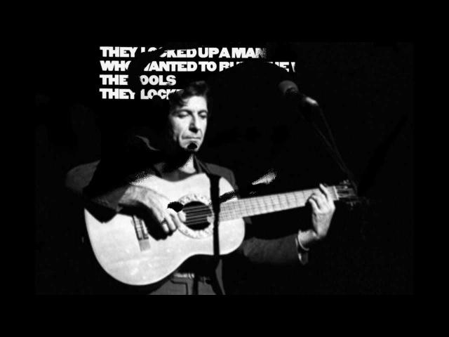 Leonard Cohen Avalanche live in Tel Aviv 1972