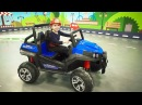 Arina Pretend Play with toys baby car's for kids Video for children