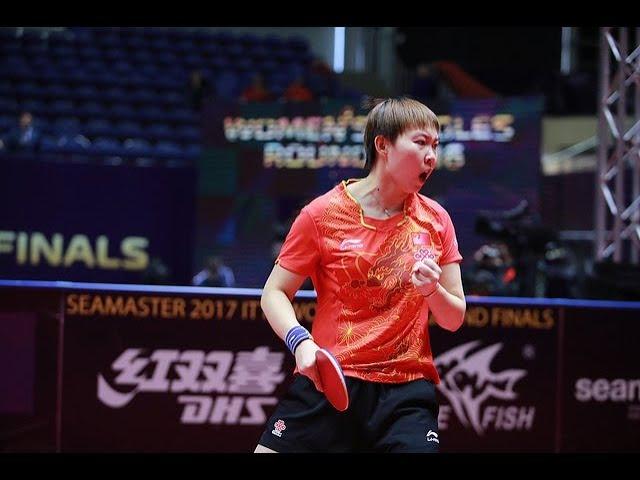 [WS-SF] CHEN Xingtong(CHN) Vs ZHU Yuling(CHN) 2017 WTGrand Finals - Full Match – HD720p