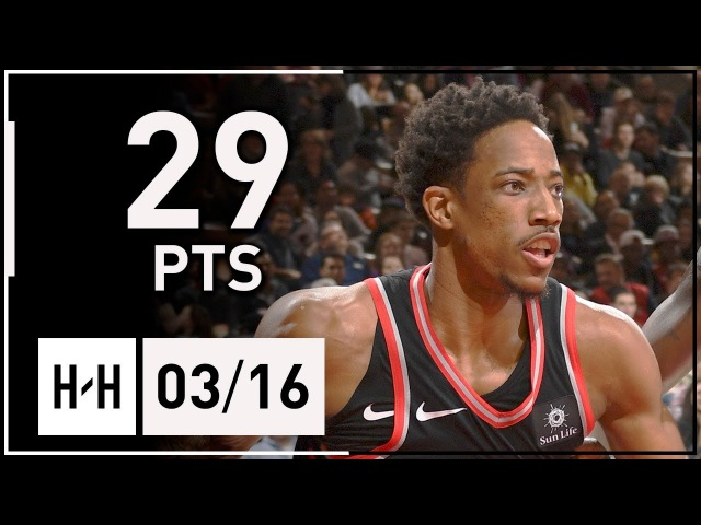 ДеМар ДеРозан | 29 очков в игре с Далласом