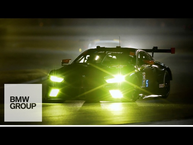 The Light of the BMW M8 GTE -BMW Group