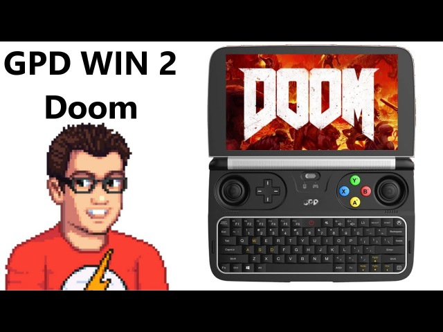 GPD Win 2 - Doom 2016 - It Plays Doom