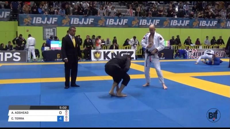ADAM ADSHEAD vs CAIO TERRA IBJJFEURO18