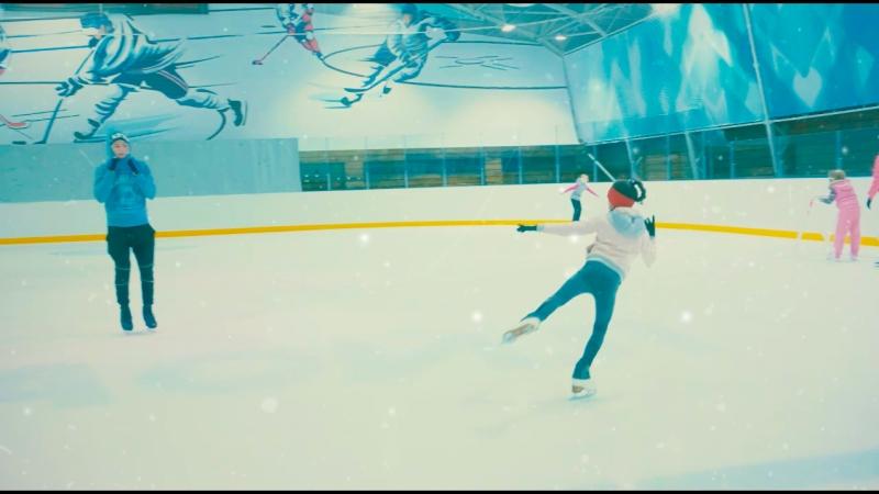 Ледовая арена в фитнес-центре БУШИДО