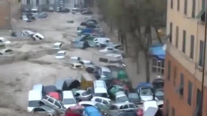 Город тонет после дождя.....!2016г.