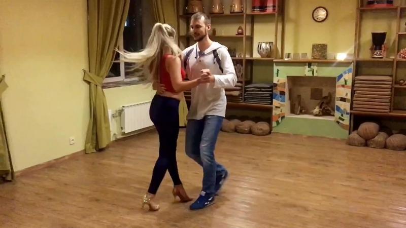 Кизомба, Владислав Сабенин и Марина Молчанова @ Salsa Cubana Novosibirsk