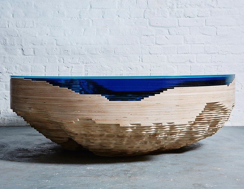 duffy london models abyss horizon table after a dramatic cross-section of the sea