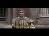 Charlton Heston - Mark Antony speech Julius Caesar 1970 subt.
