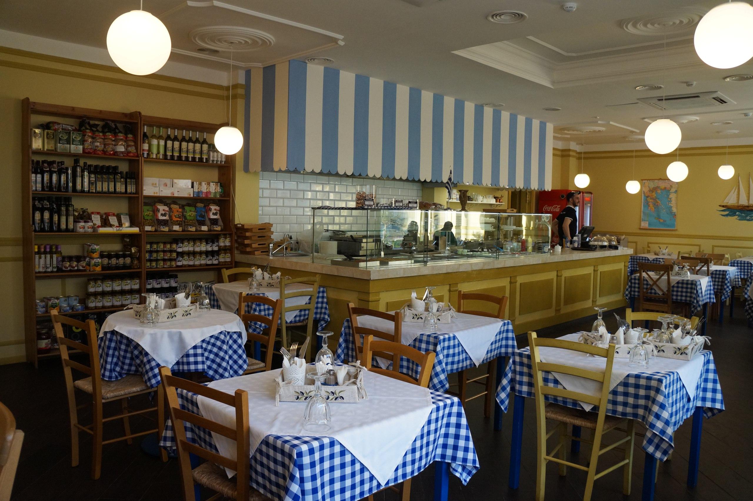 """Обеды в """"Пита и сувлаки"""", смотрим что нам греки приготовили"""