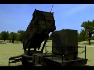 Raytheon - Patriot противовоздушная и противоракетная оборона система (PAC-3) Моделирование [480p]