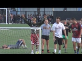 November 7: Another video of Justin playing soccer in Los Angeles, California.