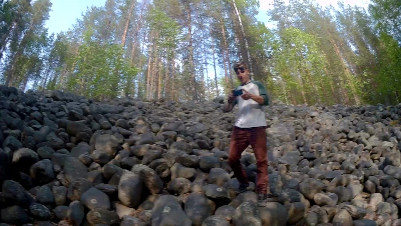 Найдена стенка из камней. 26 may of 2018Kareliasun