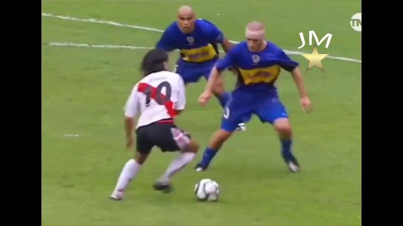 Cuando Ortega volvio a bailar a Boca en la Bombonera! 3 - 0 PALIZA