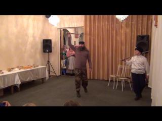 Казачий танец с шашками