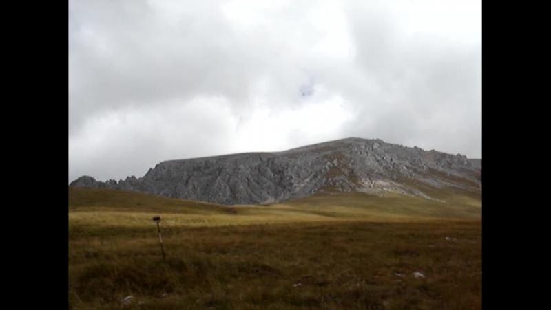 Краснодарский край Респ Адыгея Дорога к Фишту Гора ОштенСентябрь 2012г