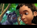Маугли - Книга Джунглей – Спящий удав 🐍 – развивающий мультфильм для детей