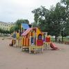 Открытие детской площадки на улице Циолковского