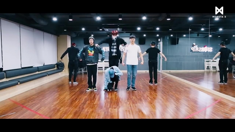 MONSTA X - Fighter (Dance Practice Switch ver.)