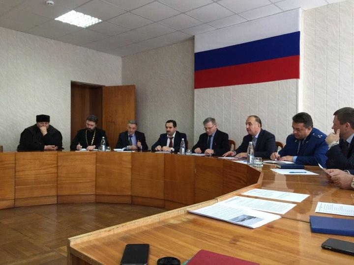 В Зеленчукском районе состоялось заседание антитеррористической комиссии